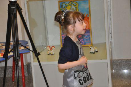 Арина с радостью танцевала