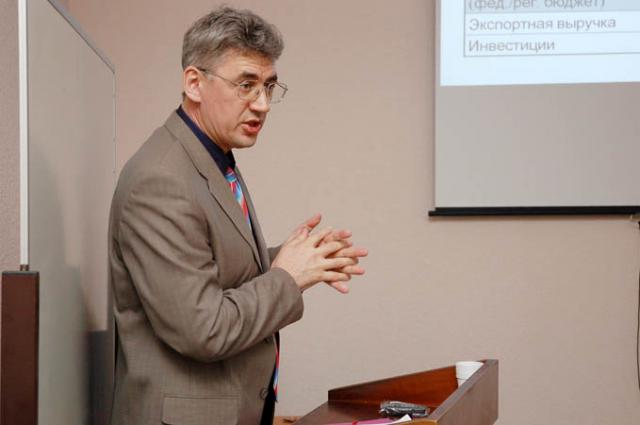Министра внешэкономразвития края Виктора Калашникова журналисты на пресс-конференции так и не услышали