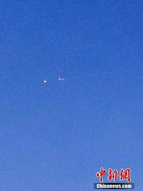 Неизвестные объекты прилетели в Китай со стороны России. Фото ECNS (Chinanews.com)
