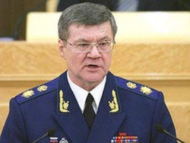 Генеральный прокурор РФ Юрий Чайка заработал 5,9 млн руб. в год