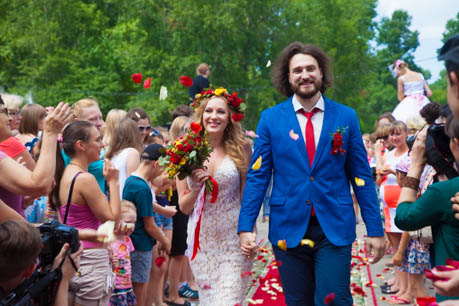 Молодожёны - Ярослава и Дмитрий