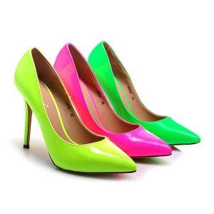 Неоновые туфельки поднимают настроение