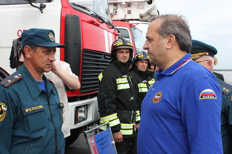 Глава МЧС России Владимир Пучков прибыл в Хабаровск