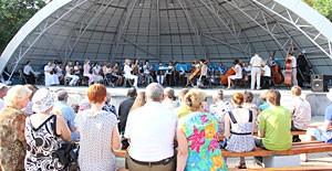 Летние концерты классической музыки пользуются популярностью у горожан