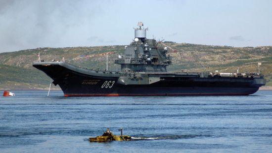 Тяжелый авианесущий крейсер - флагман российского флота