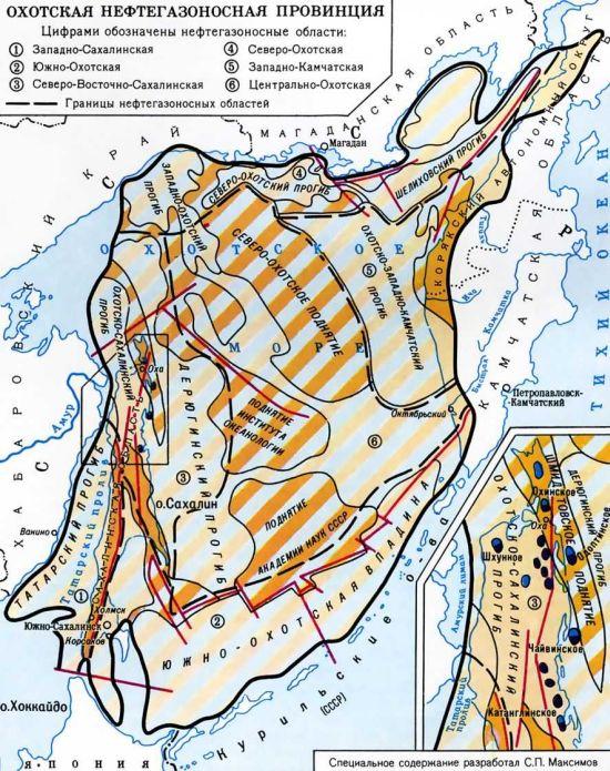 Наши геологи давно «нарисовали» на карте, что на Охотоморском шельфе в пределах Хабаровского края тоже есть большие запасы нефти и газа. Только пока осваиваются почему-то сахалинские месторождения?