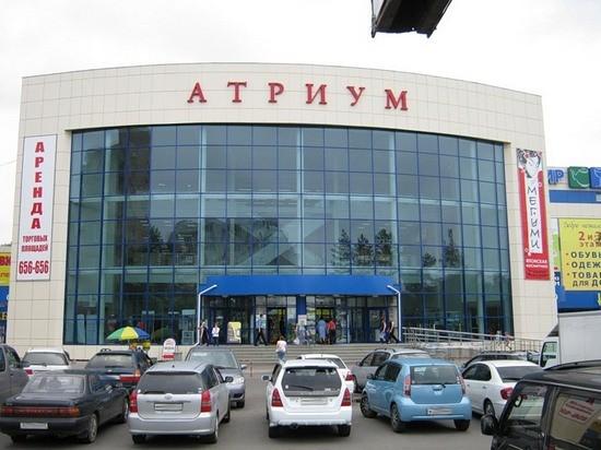 """На Краснореченской, 92 находится не только незаконно построенный автосервис, но и крупнейший торговый центр """"Атриум"""""""