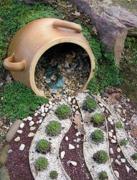 Молодило в садовом дизайне