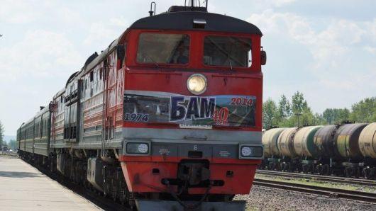 Поезд с ветеранами проехал по легендарному пути от Комсомольска до Эльги и обратно.