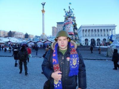 Дмитрий Ковальчук на Майдане Незалежности