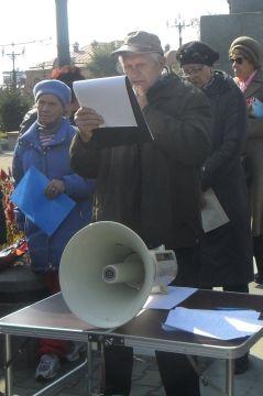 Акция протеста дачников левого берега Амура