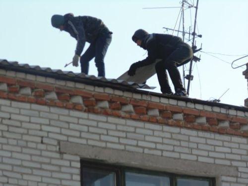 Никто так и не узнал пока, что за бригада орудовала на крышах Чумки