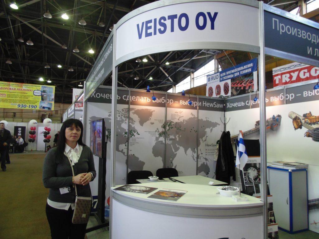 Лаура Нипули, координатор экспорта компании Veisto Oy