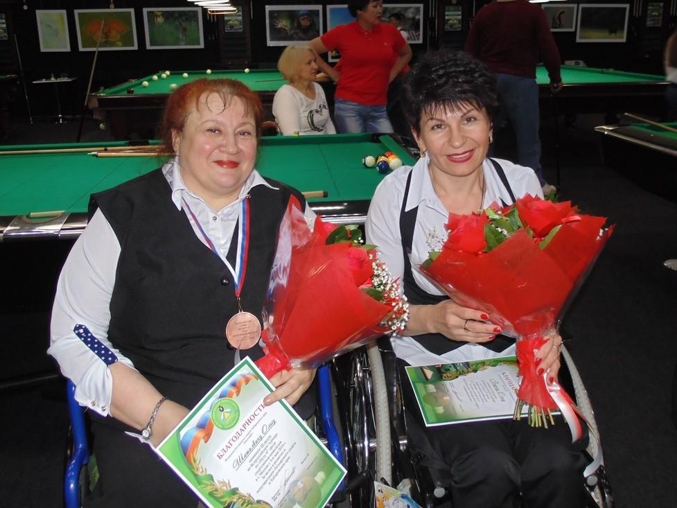 (Слева-направо) Ольга Шаталкина и Ольга Бадеха
