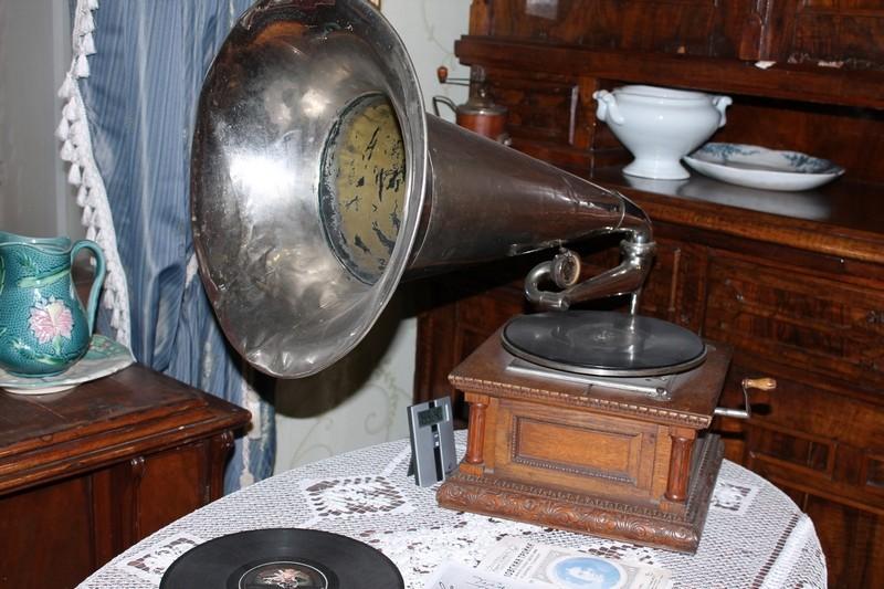 Граммофон экспонат
