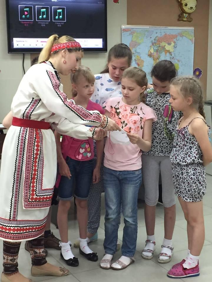 Мастер класс для детей по марийской культуре
