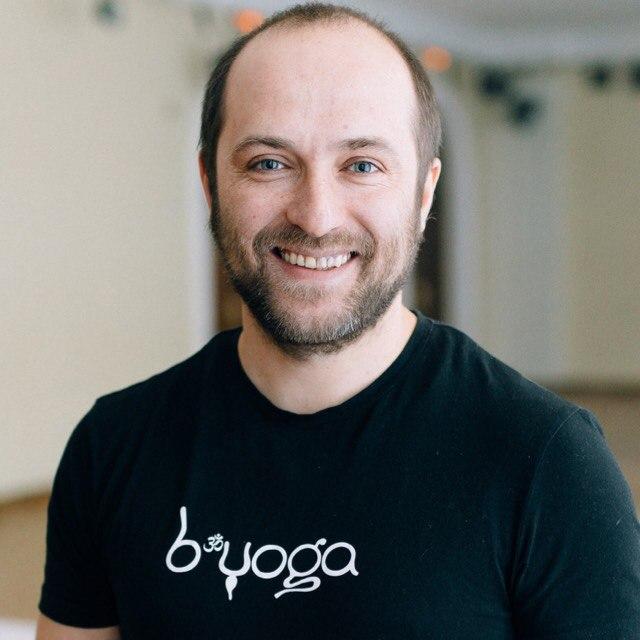 Алексей Соснин, руководитель B.Yoga центра