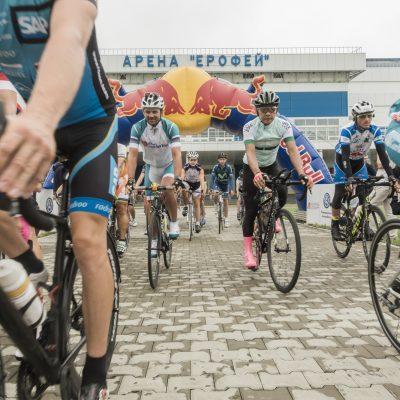 Участники гонки на старте