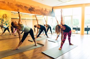 Занятия в B.Yoga центре. Руководитель Алексей Соснин   (10)