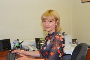 Ирина Глазырина, заместитель управляющего ОПФР по Хабаровскому краю