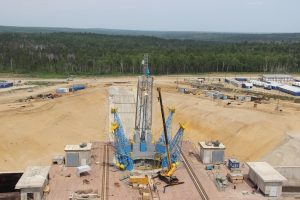 Строительство дальневосточного космодрома продолжается. И не видно пока конца и скандалам вокруг стройки века. Фото Спецстроя России.