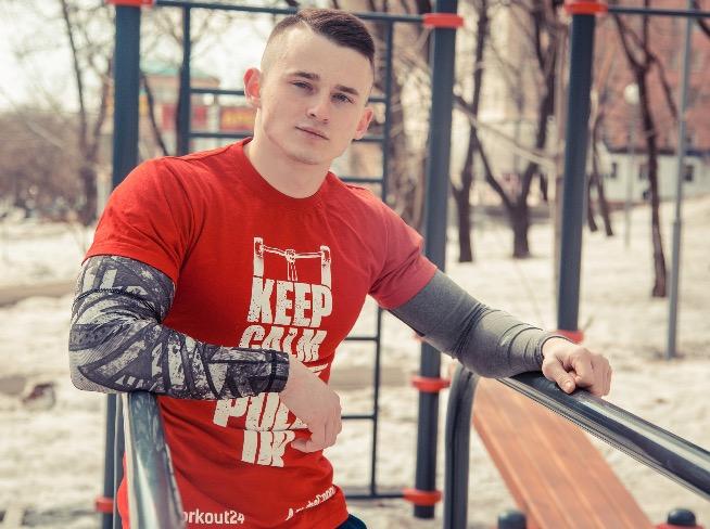 Игорь Ковтун, командир хабаровской команды SWK-StreetWorkout.