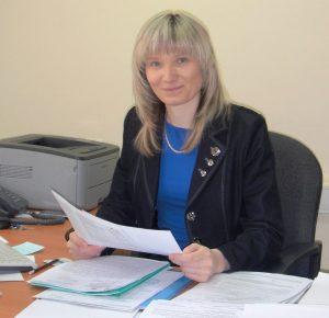 Ольга Патрахина, зам.начальника Управления ПФР в Хабаровске и Хабаровском районе