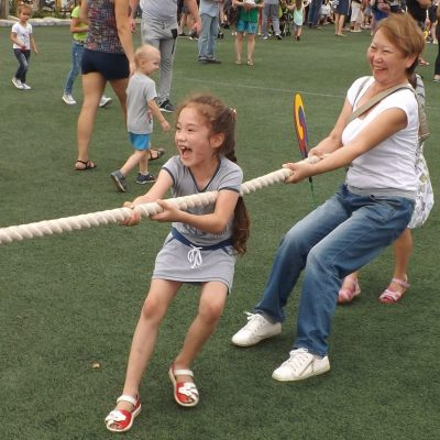 Веселая забава для детей и взрослых