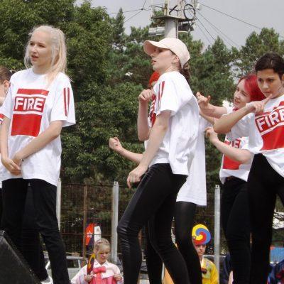 На фестивале можно было увидеть и современный дансинг