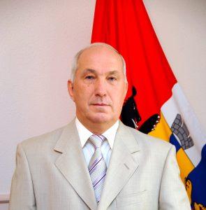 Мэр Хабаровска поздравляет строителей города и страны. Фото пресс-службы администрации Хабаровска.