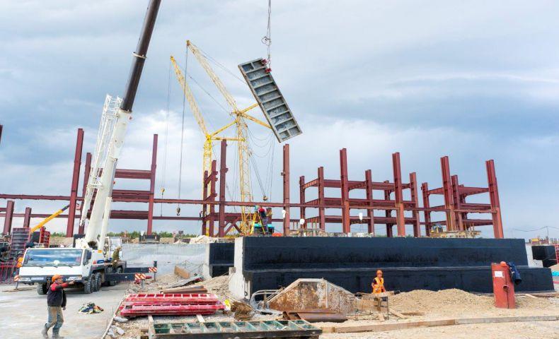Строительство Совгаванской ТЭЦ началось три года назад. Пуск первой очереди теперь запланирован на 2017 год. Фото - Наша гавань.рф