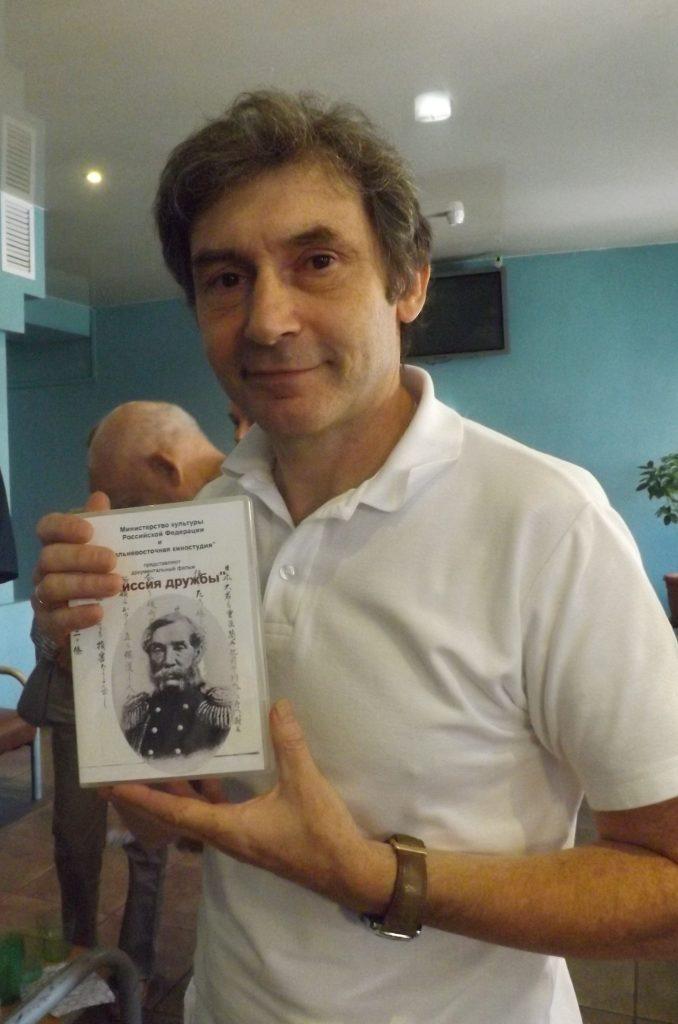 Документалист Альберт Самойлов на премьере своего нового фильма. Фото Дмитрия Судакова