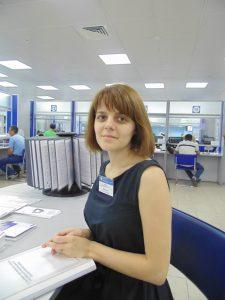 Ольга Шульга, начальник отдела социальных выплат Управления ПФР в Хабаровске и Хабаровском районе