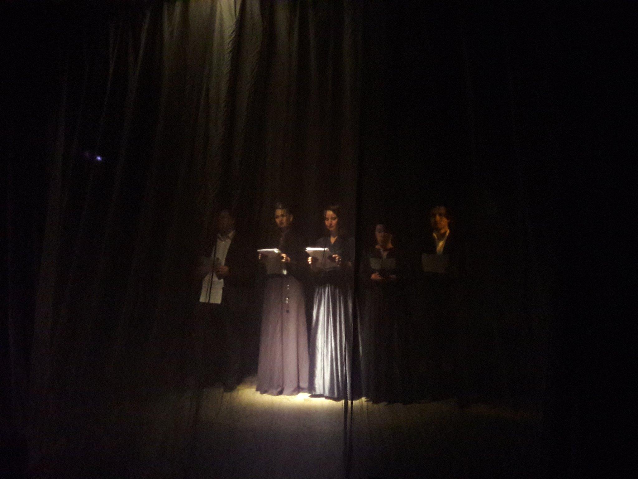Участие актеров в этом спектакле минимально. Фото Натальи Ивацик