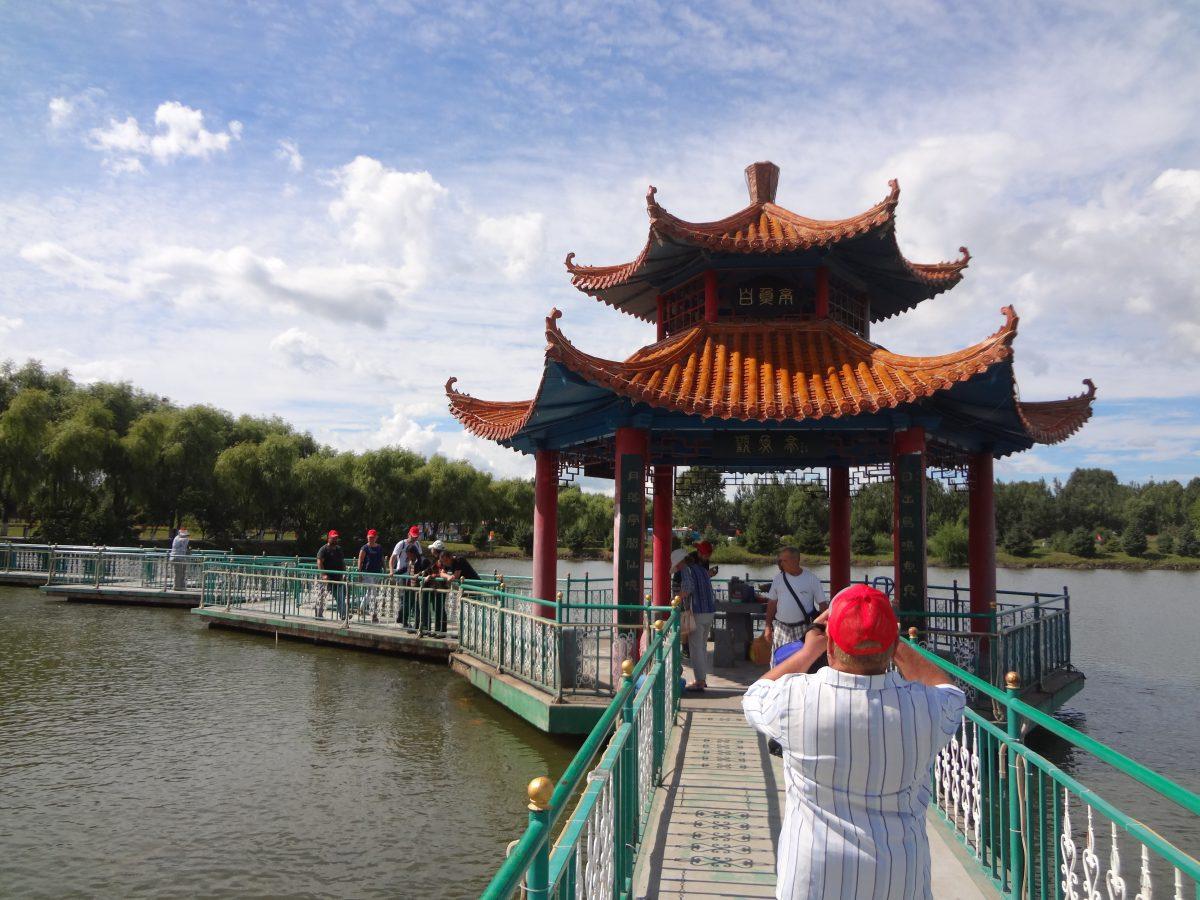 китай виноградники Мосты мосточки
