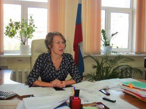 Татьяна Черендина, начальник УПФР в Хабаровске и Хабаровском районе