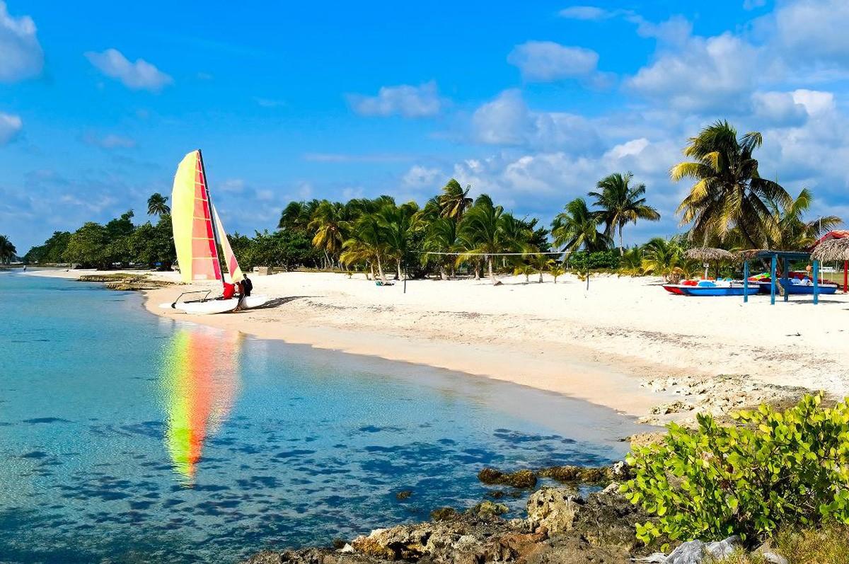 the coast of Cuba