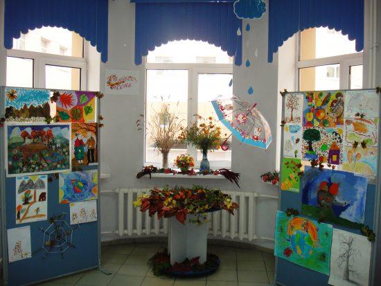 Выставка детских работ в ПРФ создает теплое настроение