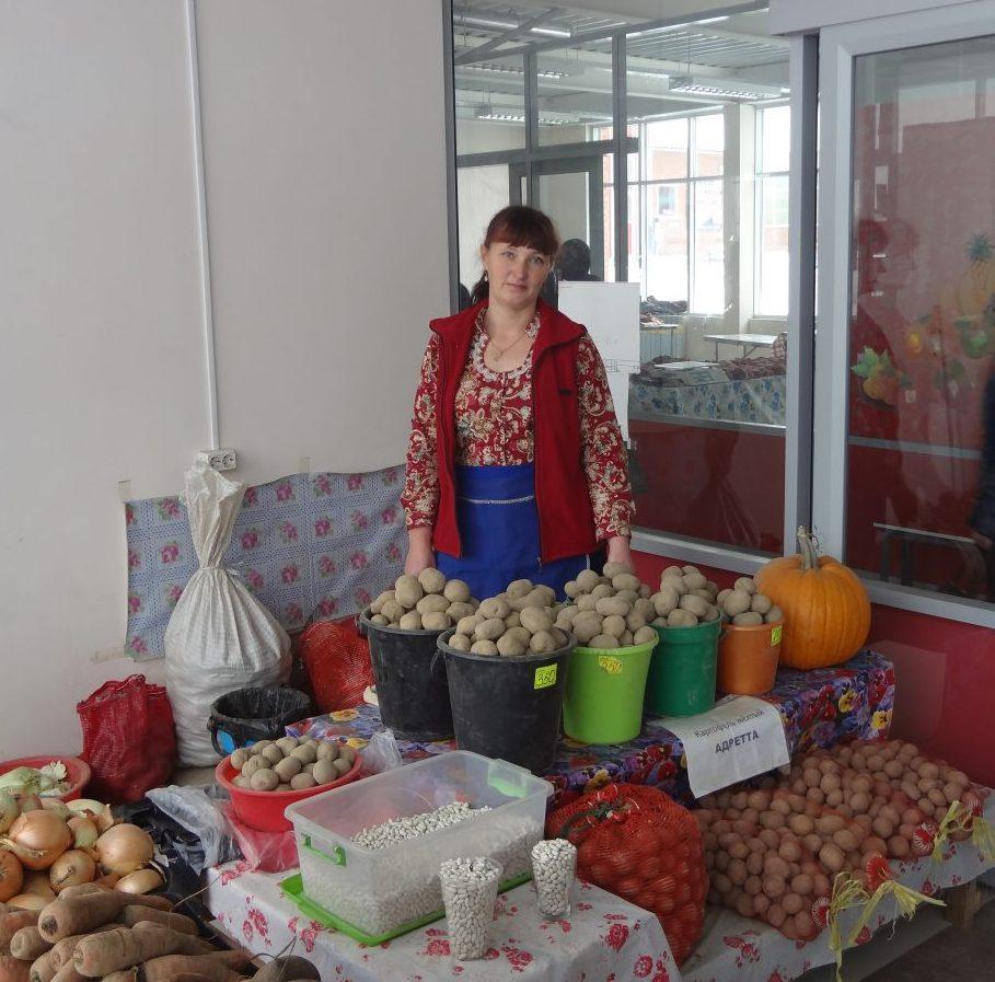 Елена, фермер из Кии р-на им. Лазо