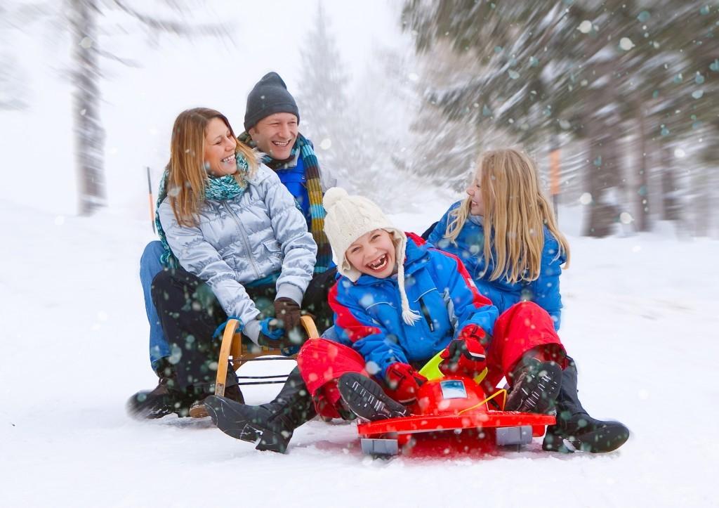 Развлечения с семьей в новый год