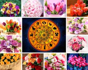 Выбери свой счастливый цветок