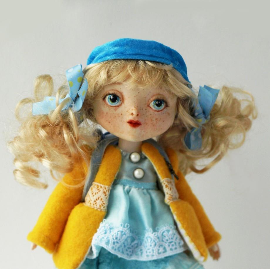 Кукольных дел мастер: хабаровчанка Ольга Ковальчук о хобби и бизнесе (ФОТО)
