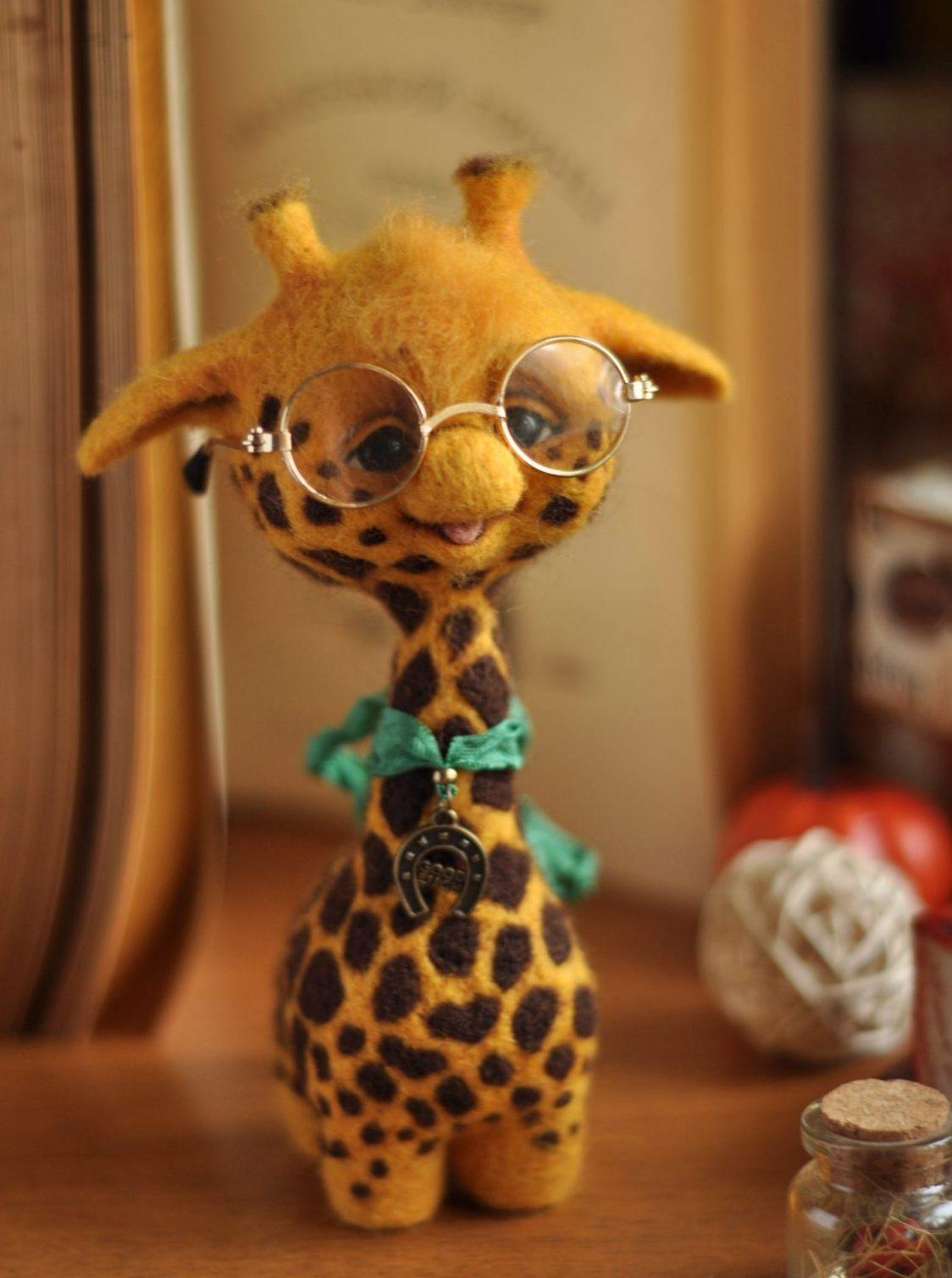 Талантливый Хабаровск: Элла Гембаровская создает необычные игрушки из шерсти (ФОТО)