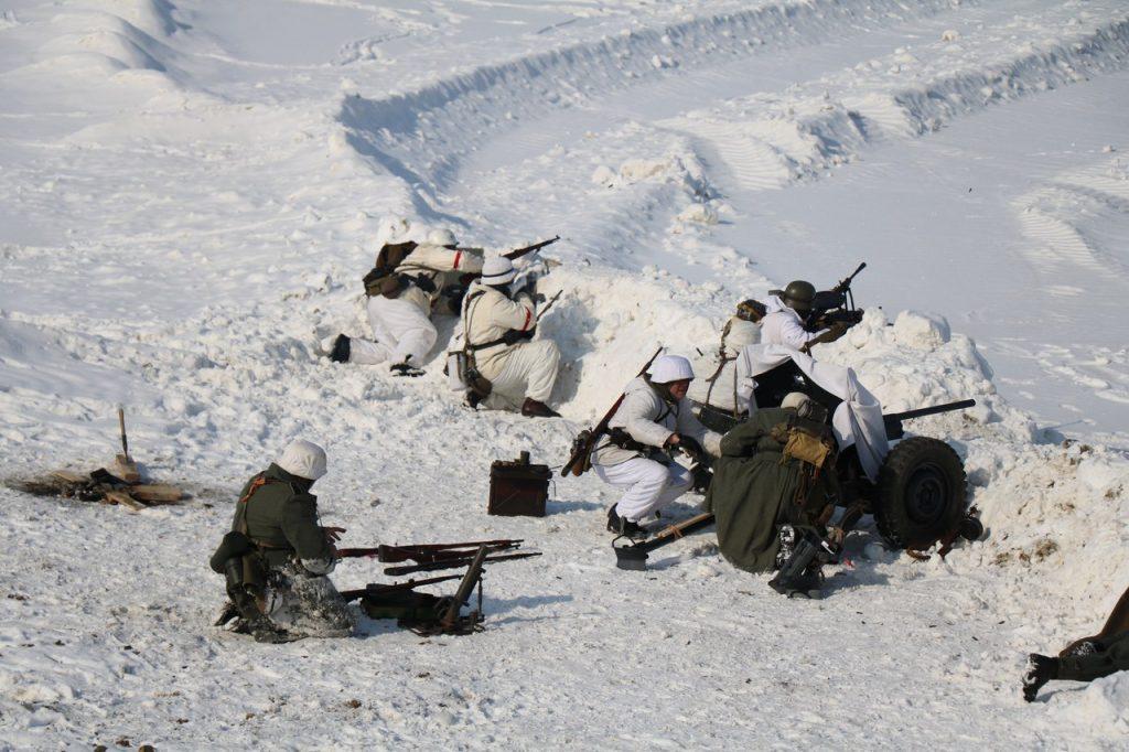 Бой Восточную Пруссию реконструкцию