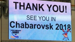 Хабаровск третий раз примет чемпионат мира хоккею мячом