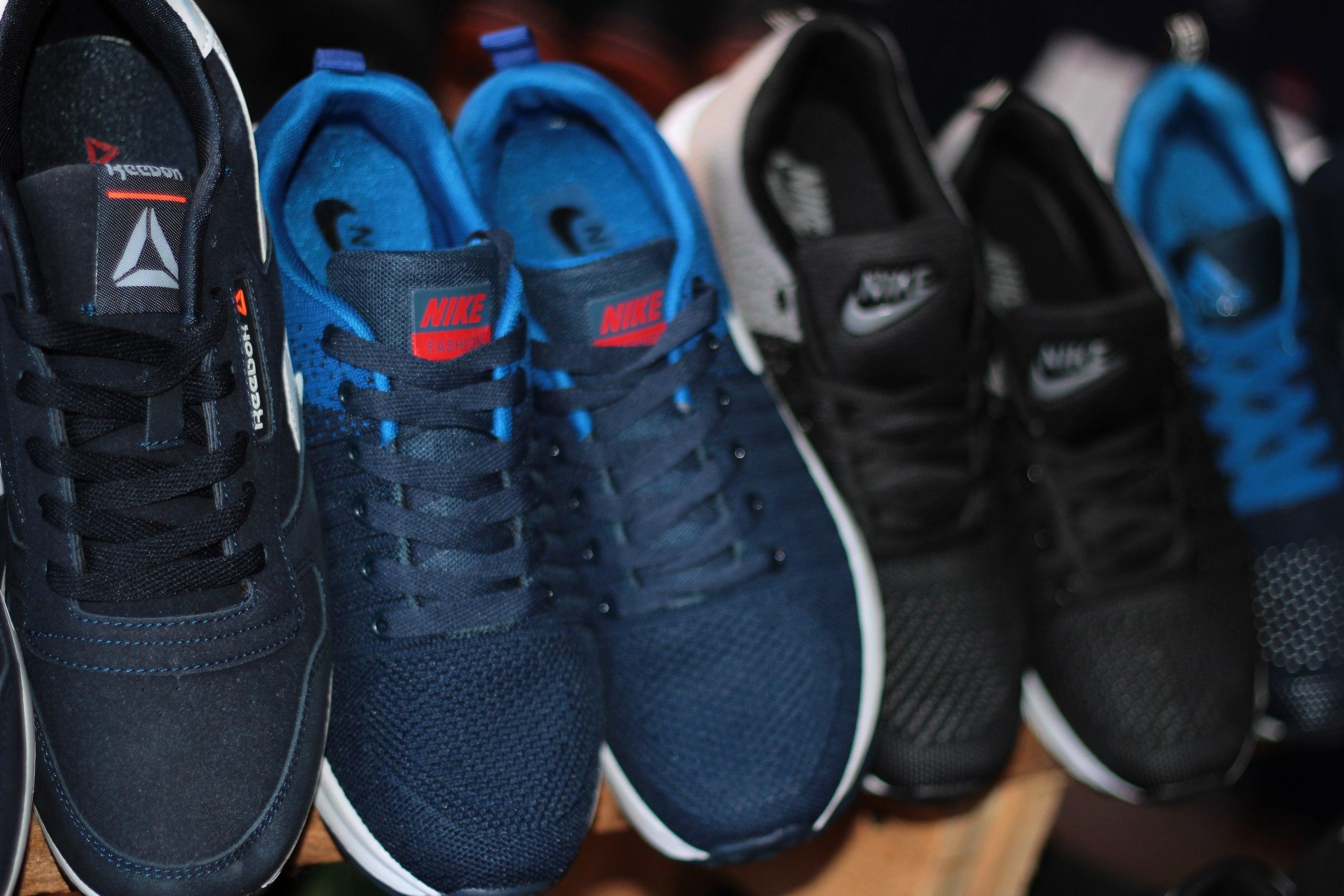 Китайские рынки кроссовок