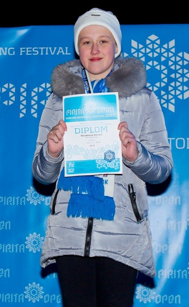 «Неперспективная» хабаровчанка Варвара Ненахова в 11 лет стала обладательницей золота Кубка мира по зимнему плаванию