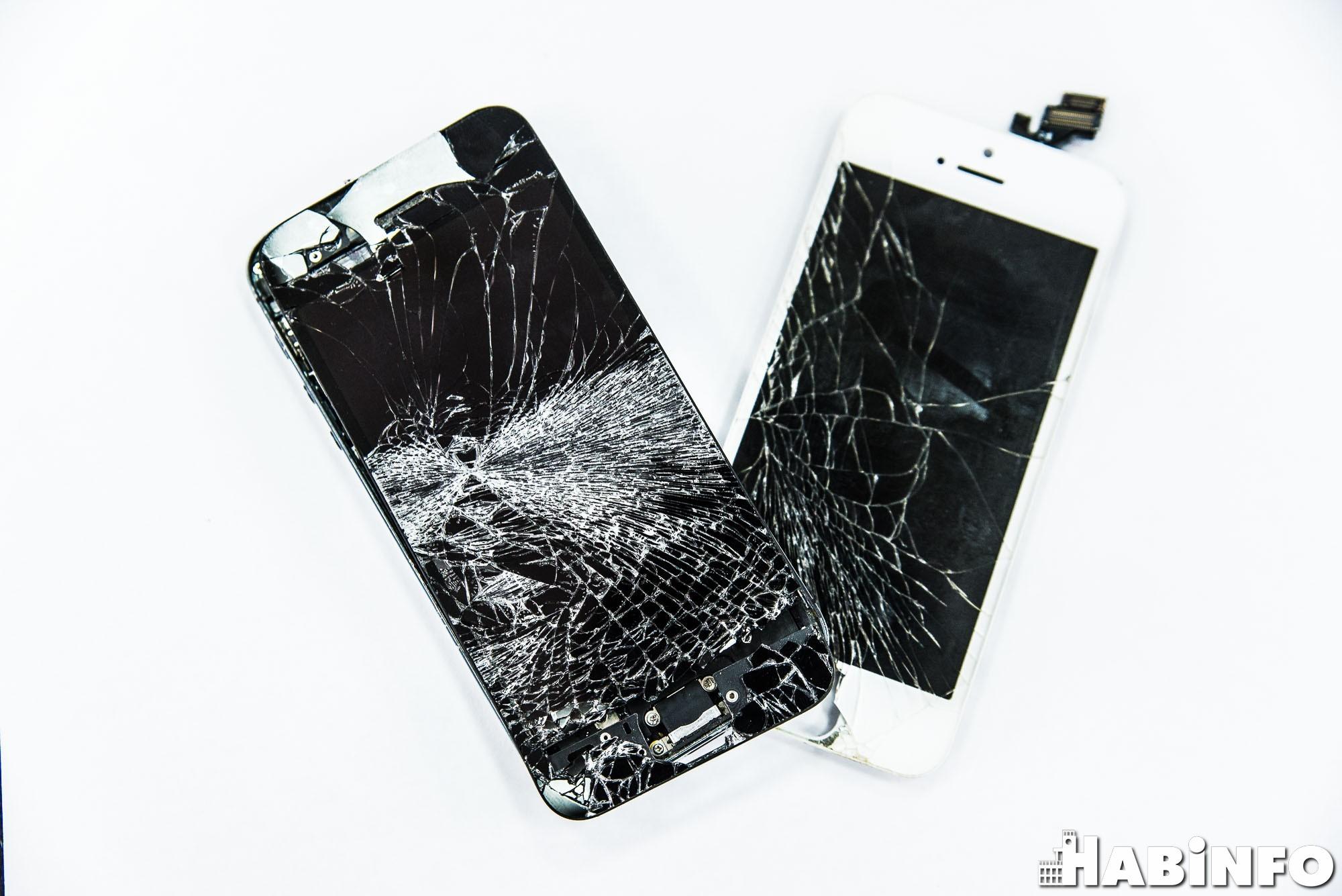 Как сделать треснутый экран на телефоне