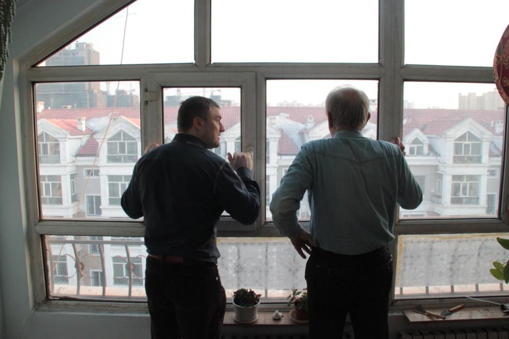 вид окно квартира фото