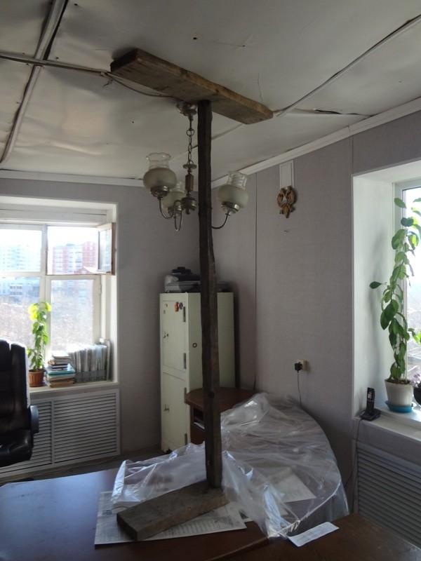В Союзе садоводов обвалился потолок